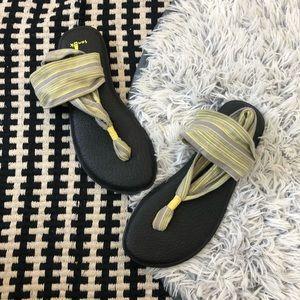 Sanuk yoga sling sandals 8